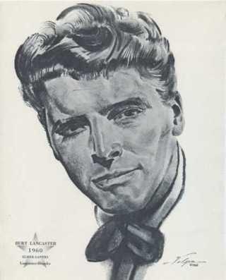 Burt Lancaster 1962 Volpe Portrait
