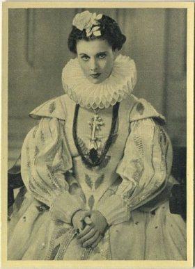 Vivien Leigh 1940 A and M Wix Cinema Cavalcade Tobacco Card