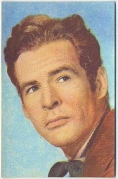 Robert Ryan 1951 Artisti del Cinema Trading Card