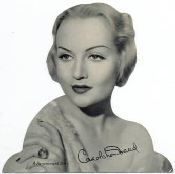 Carole Lombard 1934 Quaker Oats Standee