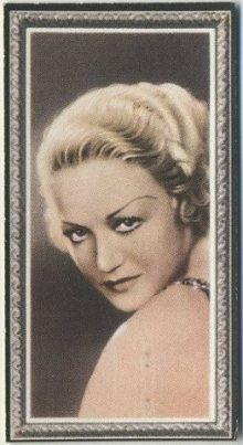 Wynne Gibson 1936 Godfrey Phillips Stars of the Screen