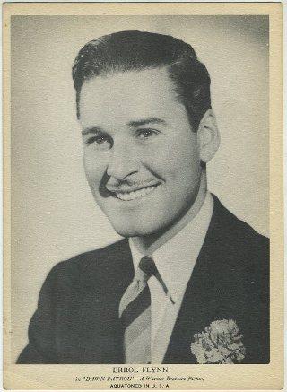 Errol Flynn 1939 R96 Aquatoned Premiums