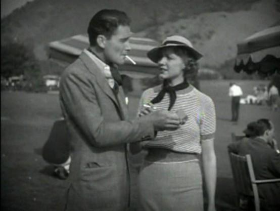 Errol Flynn and Claire Dodd