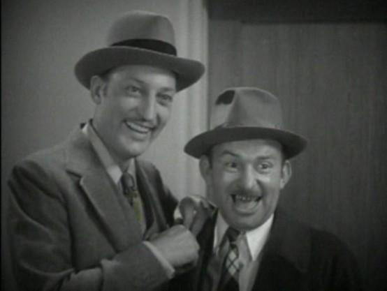 Warren William and Vince Barnett