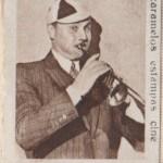 Charlie Ruggles 1934 Estampas de Cine Paper Stock Trading Card