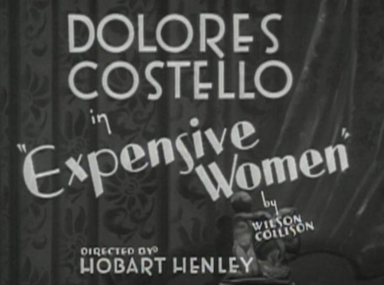 Expensive Women 1931