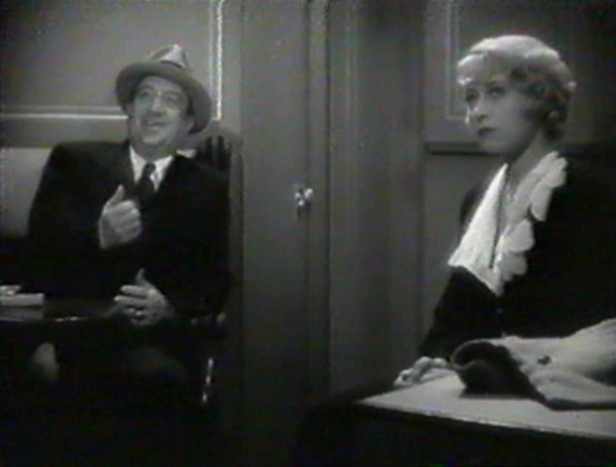 Hugh Herbert with Joan Blondell
