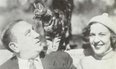 Hugh Herbert and wife 1938