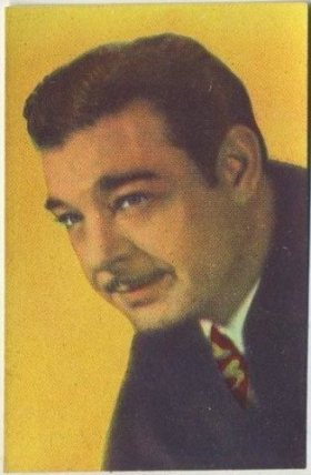 Lon Chaney Jr 1951 Artisti del Cinema Trading Card