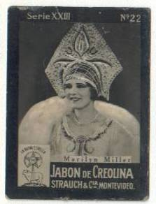 Marilyn Miller 1920s Tobacco Card