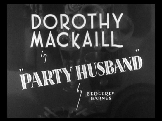 Party Husband 1931