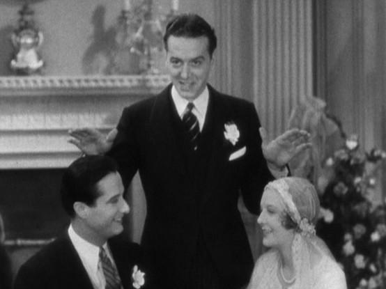 Joe Donahue James Rennie and Dorothy Mackaill