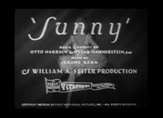 Sunny 1930