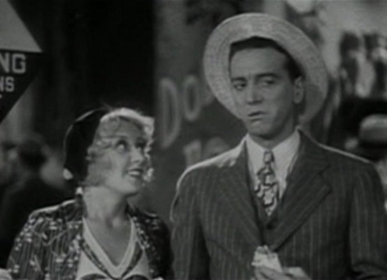 Joan Blondell and Joe Donahue