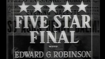 Five Star Final 1931