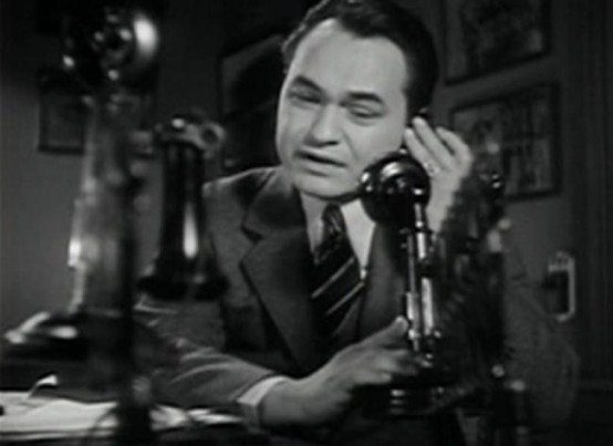 Edward G Robinson in Five Star Final