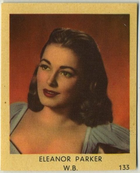 Eleanor Parker 1954 Dutch Trading Card