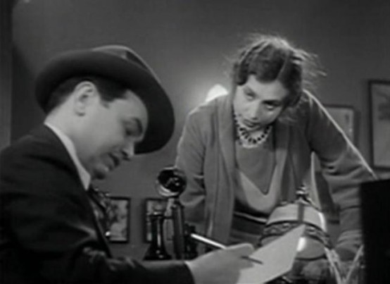 Aline MacMahon and Edward G Robinson