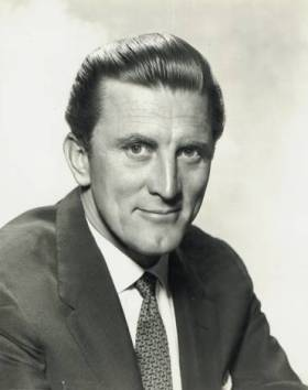 Kirk Douglas 1950s Promotional Photo