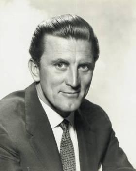 Kirk Douglas 1950s Promotional Photo