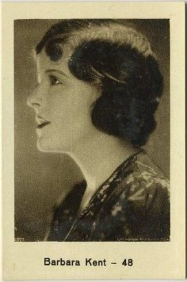 Barbara Kent 1932 Monopol German Tobacco Card