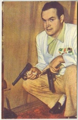 Bob Hope 1951 Artisti de Cinema Trading Card