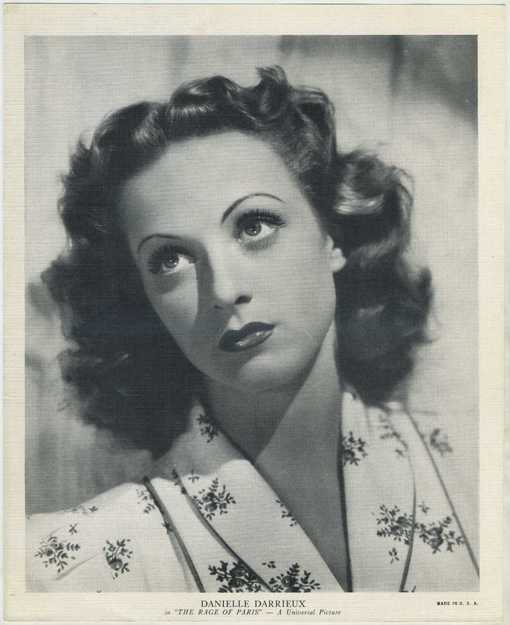 Danielle Darrieux 1938 R95 EMO Movie Club Premium