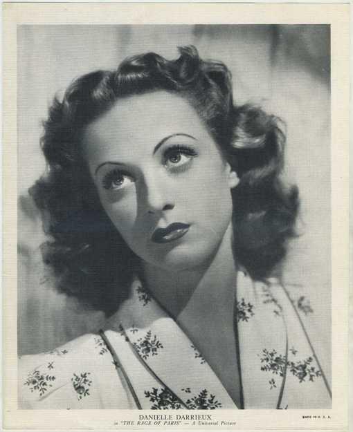 Danielle Darrieux 1938 R95 EMO Movie Club Premium
