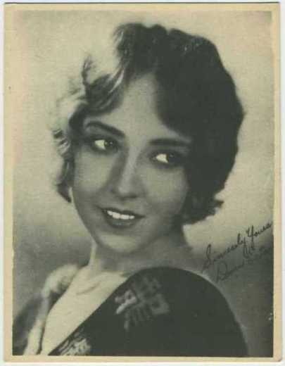 Doris Eaton Late 1920s Kashin W618 Collector Card