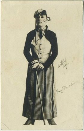 Fay Tincher 1910s Kinema Movie Theater Promotional Card
