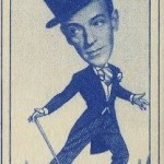 Fred Astaire 1949 Carreras Turf Tobacco Card