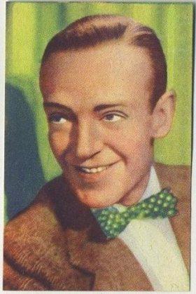 Fred Astaire 1951 Artisti del Cinema Trading Card