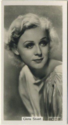 Gloria Stuart 1934 John Sinclair Tobacco Card