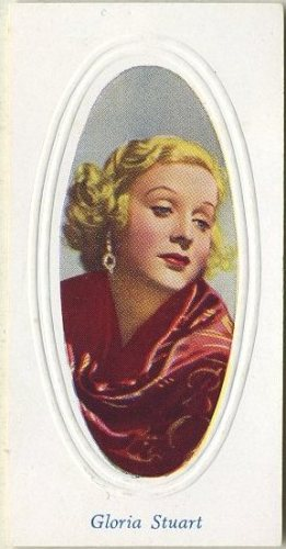 Gloria Stuart 1936 Godfrey Phillips Screen Stars Tobacco Card