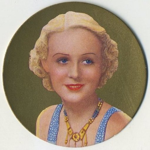 Gloria Stuart 1939 Rothmans Beauties of the Cinema Tobacco Card