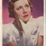 Irene Dunne 1937 Nestle Trading Card