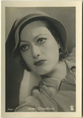 Joan Crawford 1930s A Batschari German Tobacco Card