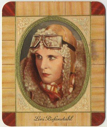 Leni Riefenstahl 1930s Garbaty Tobacco Card