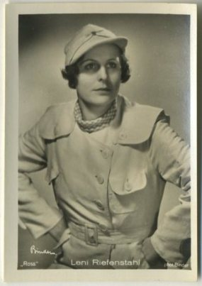 Leni Riefenstahl 1930s Haus Bergmann German Tobacco Card