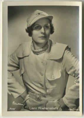 Leni Riefenstahl 1930s Haus Bergmann German Tobacco Card