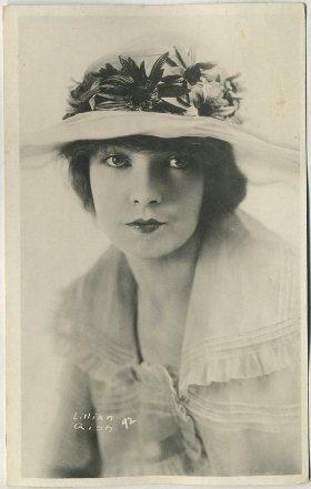 Lillian Gish 1910s Real Photo Postcard