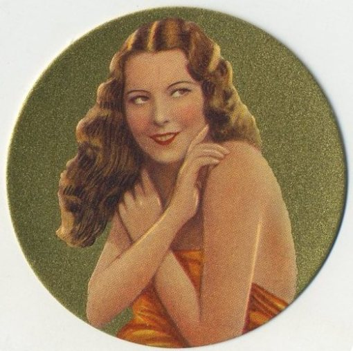 Lupita Tovar 1939 Rothmans Beauties of Cinema Tobacco Card