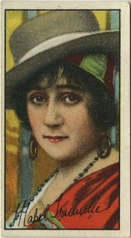 Mabel Trunnelle 1916 Imperial Tobacco Company Trading Card