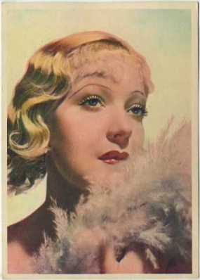 Martha Eggerth 1936 Nestle's Trading Card