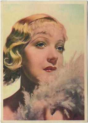 Martha Eggerth 1936 Nestle's Trading Card