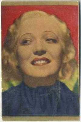 Martha Eggerth 1936-37 Danmarks Trading Card