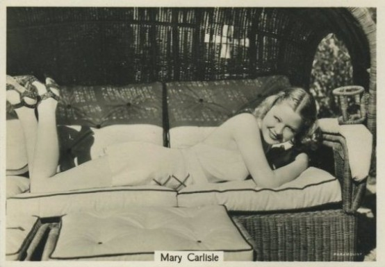 Mary Carlisle 1930s Godfrey Phillips Beauties of Cinema Tobacco Card