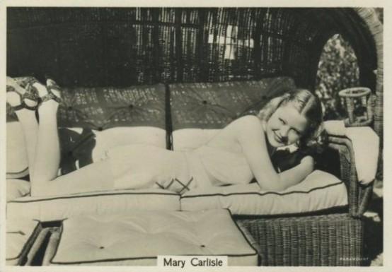 Mary Carlisle 1930s Godfrey Phillips Beauties of Cinema Tobacco Card