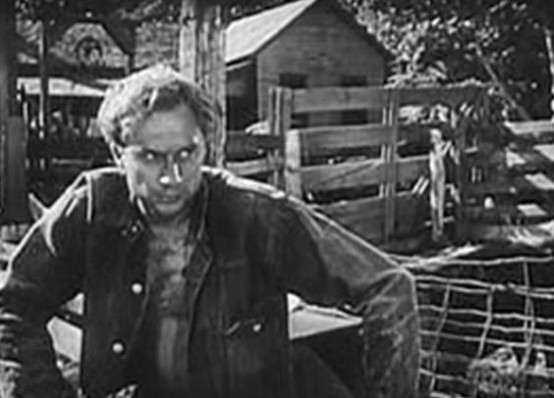 Norman Lloyd in The Southerner 1945