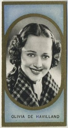 Olivia de Havilland 1938 Carreras Film Favourites